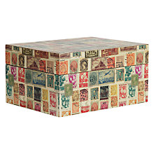 Buy John Lewis Stamp Box Online at johnlewis.com