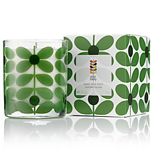 Buy Orla Kiely Basil & Mint Scented Candle, 200g Online at johnlewis.com