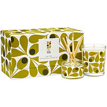 Buy Orla Kiely Fig Tree Candle and Diffuser Gift Set Online at johnlewis.com