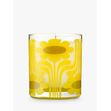 Buy Orla Kiely Sicilian Lemon Scented Candle, 200g Online at johnlewis.com
