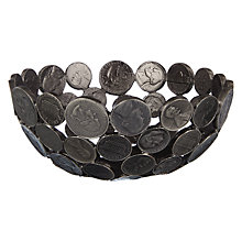 Buy John Lewis Pewter Coin Bowl Online at johnlewis.com