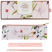 Buy Ted Baker Oriental Bloom Stationery Set Online at johnlewis.com