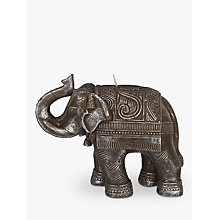 Buy John Lewis Silver Elephant Candle Online at johnlewis.com