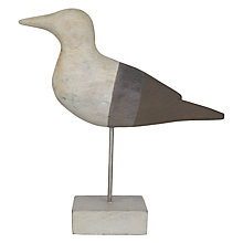 Buy Grey Bird On Stand Online at johnlewis.com
