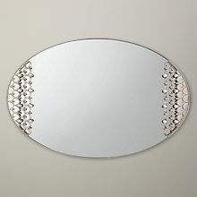 Buy John Lewis Bejewelled Mirror Tray Online at johnlewis.com