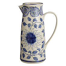 Buy John Lewis Maison Lidded Ceramic Blue Jug Online at johnlewis.com