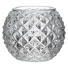 Buy Decoris Single Faceted Tealight Holder Online at johnlewis.com