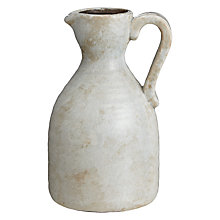 Buy Decoris Stoneware Jar, Small Online at johnlewis.com