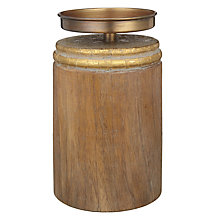 Buy Gold Paisley Large Pillar Candle Holder Online at johnlewis.com