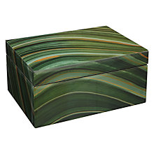 Buy John Lewis Marble Patterned Jewellery Box Online at johnlewis.com