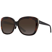 Buy Christian Dior Diorific Rectangular Sunglasses, Tortoise Online at johnlewis.com