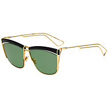Buy Christian Dior Diorsoelectric Sunglasses, Black Online at johnlewis.com