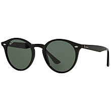 Buy Ray-Ban RB2180 Round Framed Sunglasses Online at johnlewis.com