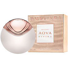 Buy Bulgari Aqva Divina Eau de Toilette Online at johnlewis.com