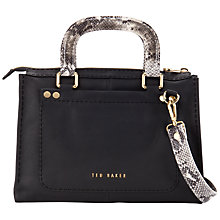 Buy Ted Baker Snakory Leather Tote Bag Online at johnlewis.com