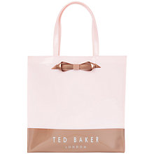 Buy Ted Baker Blockon Colour Block Large Icon Shopper Bag Online at johnlewis.com