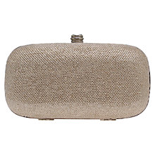 Buy Carvela Darling Box Clutch Bag, Silver Online at johnlewis.com