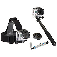Buy GoPro Sunpak 4 Piece Action Camera Accessory Kit Online at johnlewis.com
