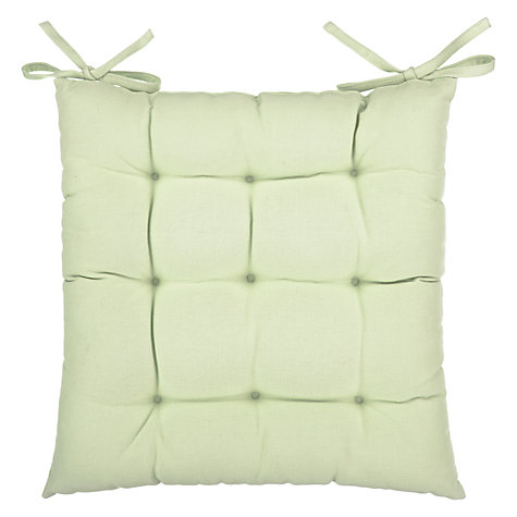 buy john lewis plain seat pad john lewis. Black Bedroom Furniture Sets. Home Design Ideas