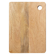 Buy John Lewis Mango Wood Chopping Board Online at johnlewis.com