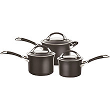 Buy Circulon Symmetry 3-Piece Cookware Set Online at johnlewis.com