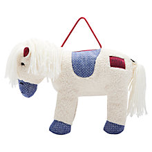 Buy Little Joule Chambray Spot Horse Bag, Cream Online at johnlewis.com