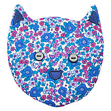 Buy Little Joule Girls' Ditsy Cat Purse, Blue Online at johnlewis.com