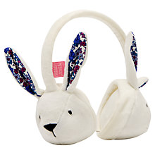 Buy Little Joule Hare Ear Muffs, Cream Online at johnlewis.com