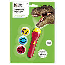 Buy Natural History Museum Dinosaur Torch and Projector Online at johnlewis.com