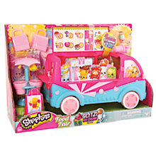 Buy Shopkins Food Fair: Glitzi Ice Cream Truck Online at johnlewis.com