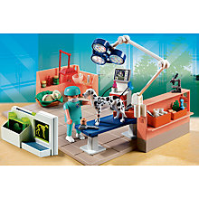 Buy Playmobil Vet With Car & Pet Examination Room Duo Pack Online at johnlewis.com