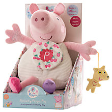 Buy Peppa Pig Activity Toy, Large Online at johnlewis.com