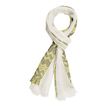 Buy Gerard Darel Ave Scarf, Lime Online at johnlewis.com