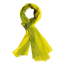 Buy Gerard Darel Arrivederci Scarf, Jaune Online at johnlewis.com