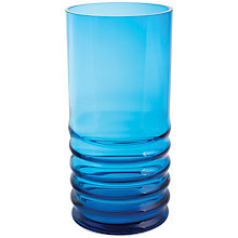 Buy Dartington Crystal Wibble Hurricane Vase, Large Online at johnlewis.com