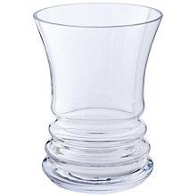 Buy Dartington Crystal Wibble Wide Vase Online at johnlewis.com