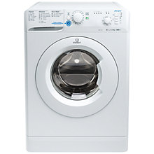 Buy Indesit XWB71252W Freestanding Washing Machine, 7kg Load, A++ Energy Rating, 1200rpm Spin, White Online at johnlewis.com
