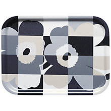 Buy Marimekko Unikko Ruutu Tray Online at johnlewis.com