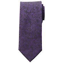 Buy Daniel Hechter Floral Semi Tonal Silk Tie Online at johnlewis.com