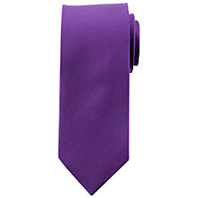 Buy Daniel Hechter Plain Textured Silk Tie Online at johnlewis.com