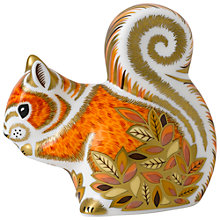 Buy Royal Crown Derby Autumn Squirrel Online at johnlewis.com