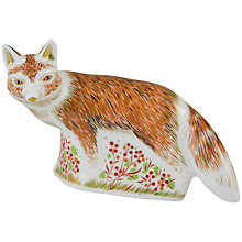 Buy Royal Crown Derby Mother Fox Paperweight Online at johnlewis.com
