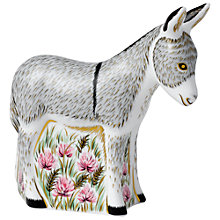 Buy Royal Crown Derby Donkey Foal Online at johnlewis.com