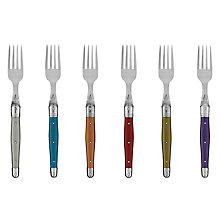 Buy Laguiole by Jean Dubost Opulence Table Fork, 6 Piece Online at johnlewis.com