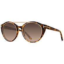 Buy TOM FORD FT0383 Joan Sunglasses, Tortoise Online at johnlewis.com