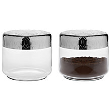 Buy Alessi Dressed Glass Storage Jar Online at johnlewis.com