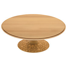 "Buy Alessi ""Dressed"" Beechwood Footed Cake Stand, Dia.31.5cm Online at johnlewis.com"