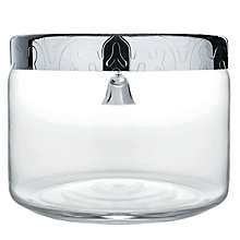 Buy Alessi Dressed Biscuit Jar, Crystal Online at johnlewis.com
