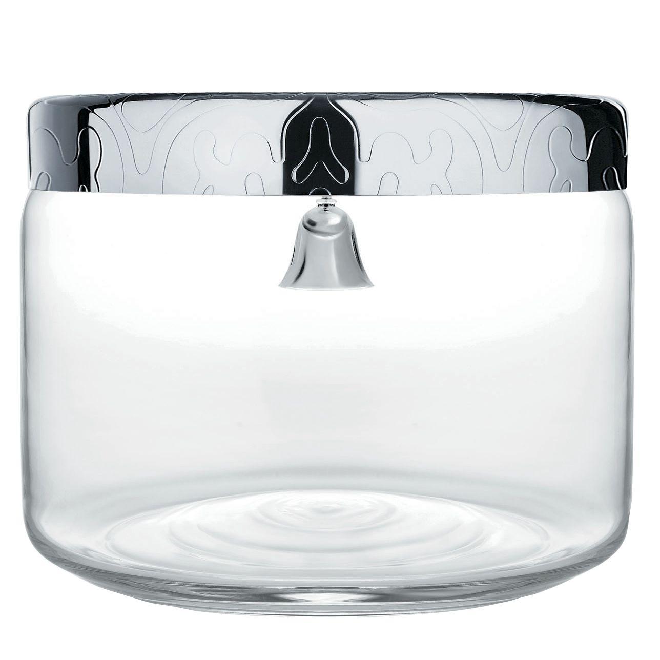 Alessi Alessi Dressed Biscuit Jar, Crystal