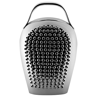 Alessi Cheese Please Grater, Stainless Steel